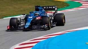 Fernando Alonso vive su temporada de regreso en la Fórmula 1