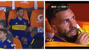 El enojo de Lisandro López por salir ante Santos