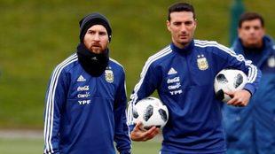 Leo Messi, la bandera de la Selección Argentina