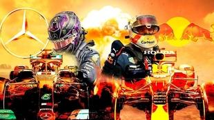 Mercedes y Red Bull, el clásico de la Fórmula 1