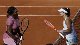 Nadia Podoroska venció a Serena Williams en el WTA 1000 de Roma