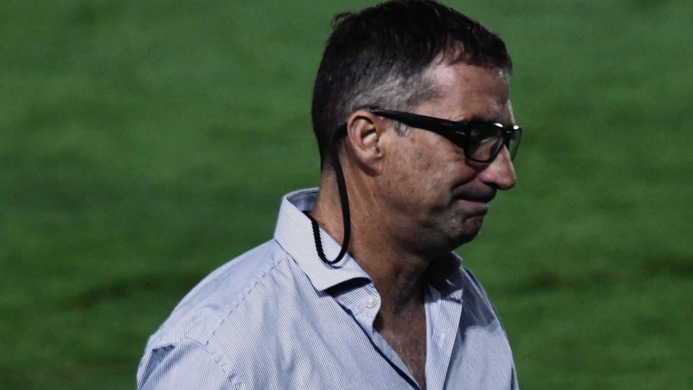 Juan Pizzi, durante un partido.