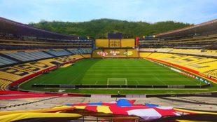 El estadio del Barcelona SC será sede en 2022.