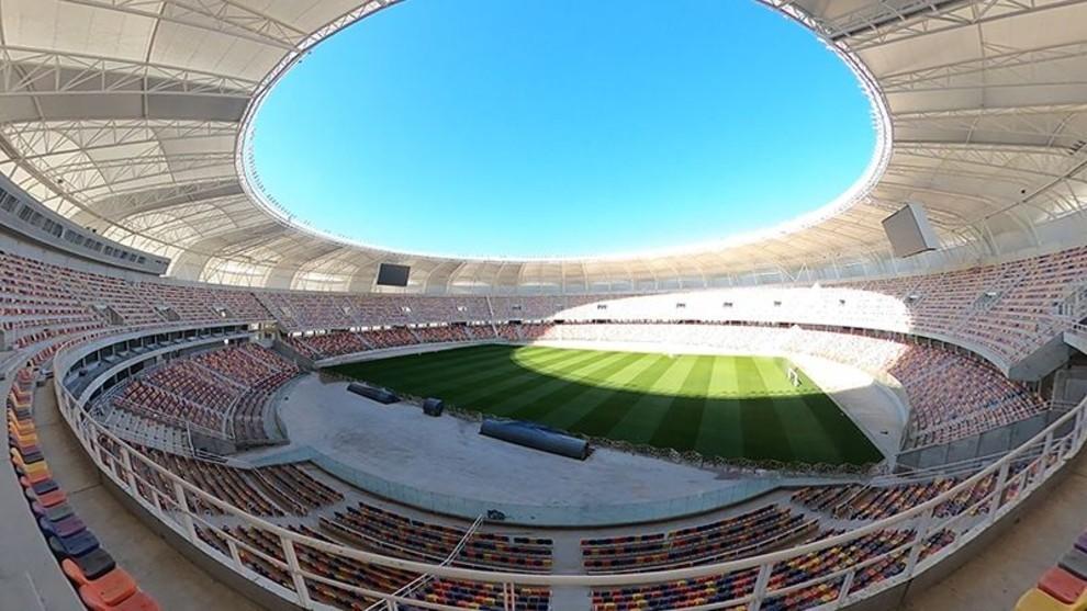 Estadio Madre de Ciudades de Santiago del Estero, sede de la final.