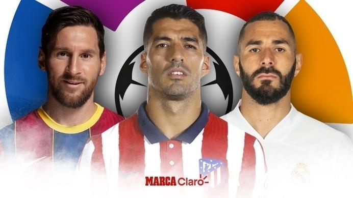 La Liga Española en directo