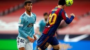 Leo Messi convirtió el gol del Barcelona