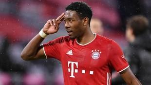 Alaba, defensa del Bayern