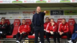 El entrenador del Bayern Múnich, Hansi Flick