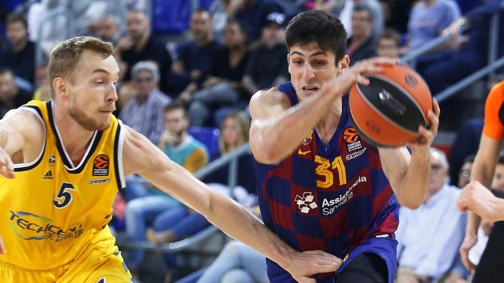 Leandro Bolmaro, jugador del Barcelona de baloncesto