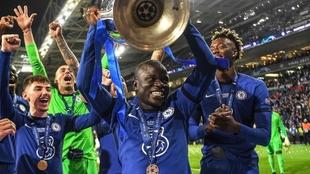 N'Golo Kanté, la figura del Chelsea campeón de Champions League