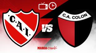 Copa de la Liga, en vivo: Independiente vs Colón