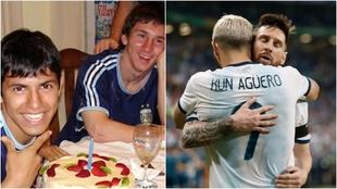 Kun Agüero fue presentado en el Barcelona y será compañero de Leo...