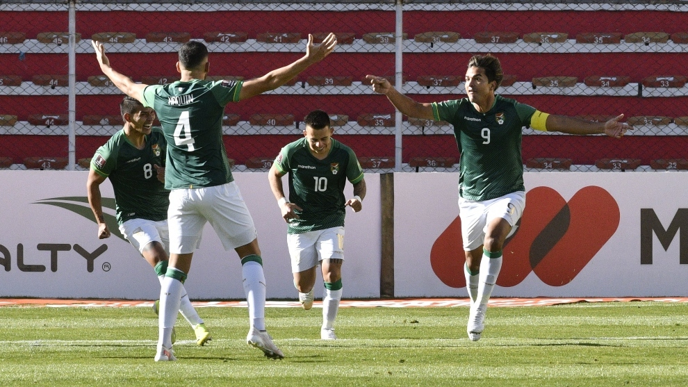 Moreno Martins grita su primer gol.