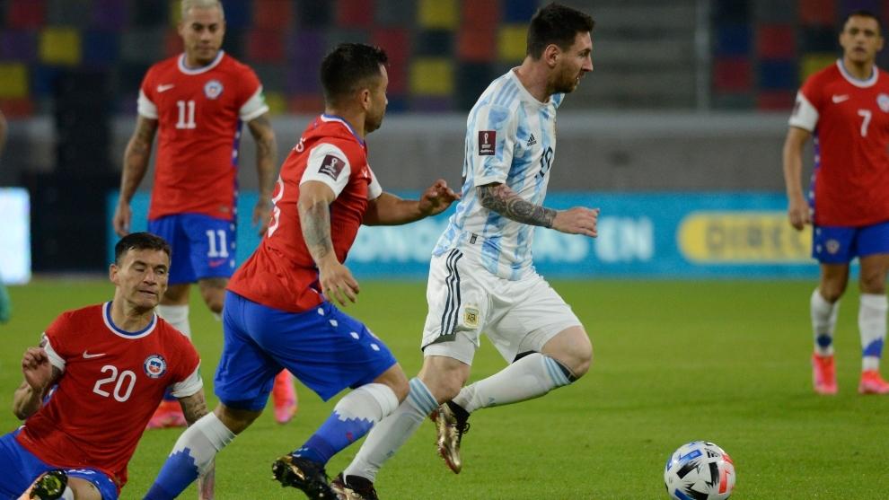 Eliminatorias Conmebol 2021 Argentina Vs Chile Resumen Goles Y Resultado Final Del Partido De La Jornada 7 De Las Eliminatorias Sudamericanas Marca Claro Argentina