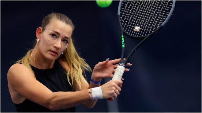 Yana Sizikova, en un partido disputado en Moscú.