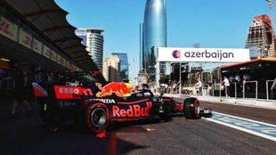 GP Azerbaiyán F1 2021: Checo Pérez ganó el Gran Premio de...