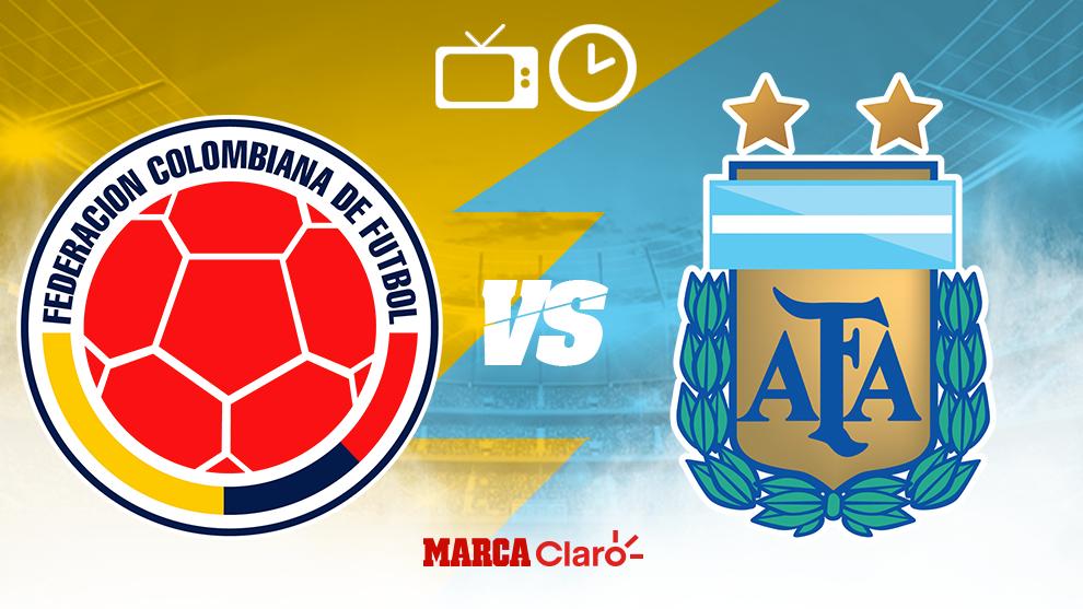 Argentina vs Colombia en vivo