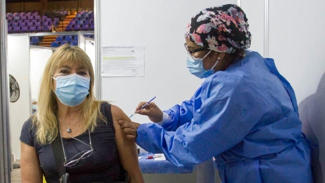 Vacunacion covid caba
