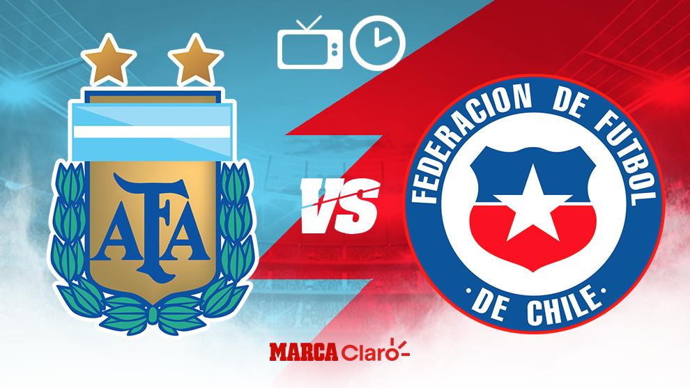 Argentina vs Chile: Horario y cómo ver en vivo por TV y online el ...