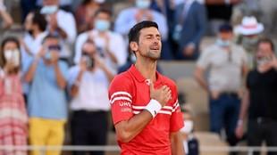 Novak Djokovic ganador de Roland Garros