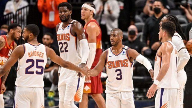 Los Phoenix Suns vencieron 4-0 en la serie a Denver Nuggets