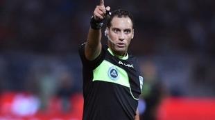 Fernando Rapallini será uno de los árbitros en la Eurocopa