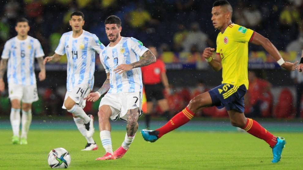 De Paul, con la selección argentina