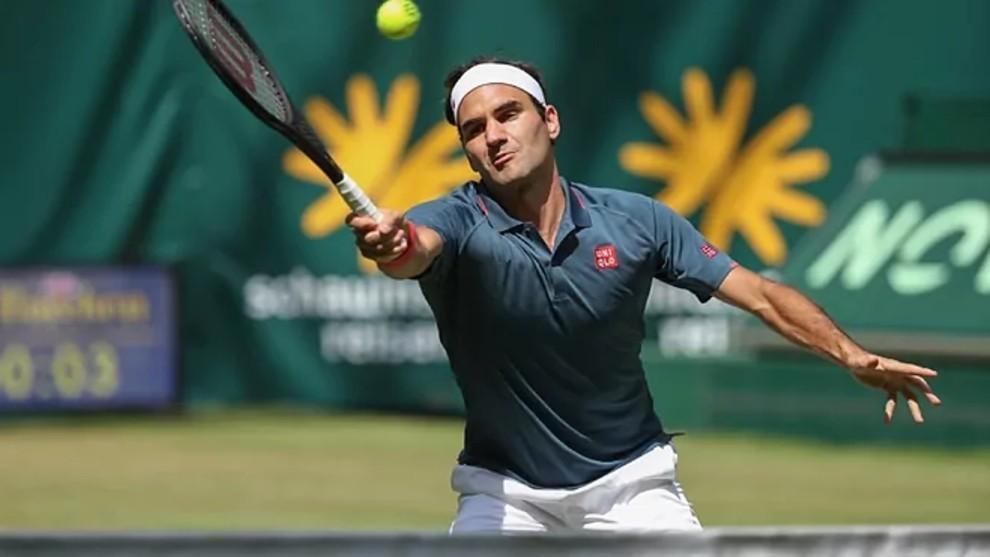 Roger Federer perdió en Halle.