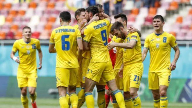 Ucrania venció 2-1 a Macedonia del Norte en la Eurocopa 2021