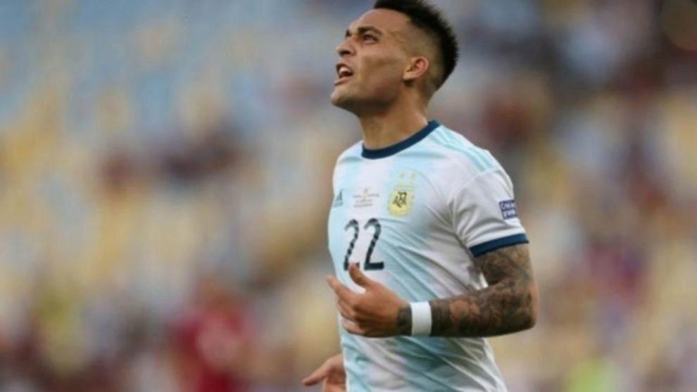 Lautaro es el delantero titular de Argentina