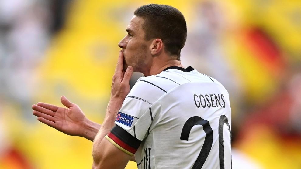Gosens, futbolista de la selección alemana