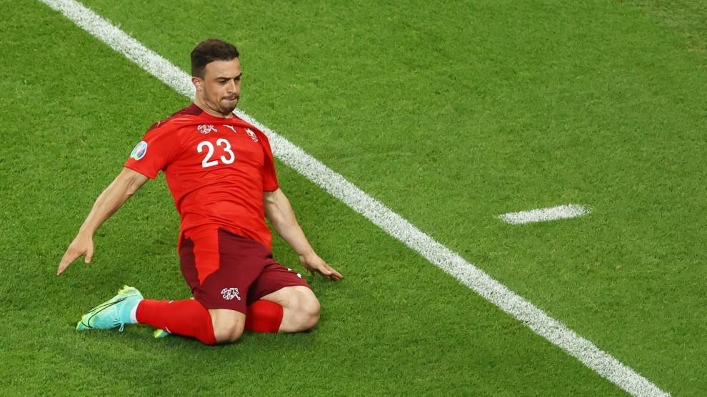 Shaqiri, futbolista de Suiza