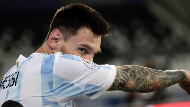 Leo Messi, el emblema de la Selección Argentina