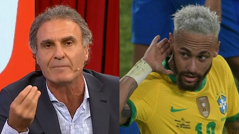 El 'cabezón' apuntó contra Neymar.
