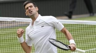 Novak Djokovic pasa a su séptima final de Wimbledon