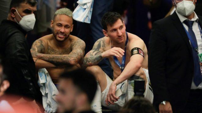 Neymar mostró su respeto hacia Lionel Messi con un emotivo mensaje