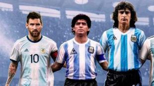 Kempes criticó a Messi.