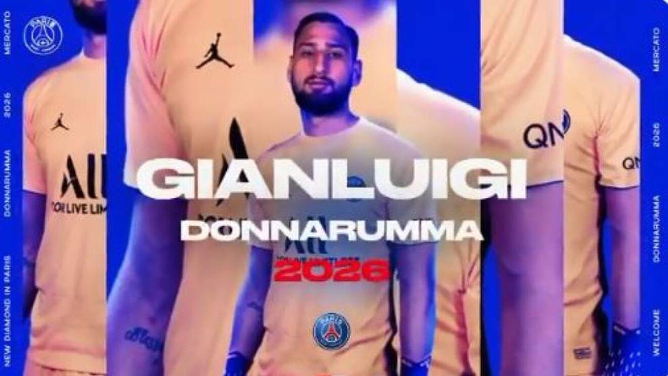 Gianluigi Donnarumma, nuevo jugador del PSG.