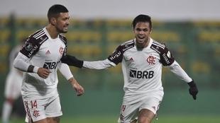 Flamengo venció 1-0 a Defensa en Florencio Varela