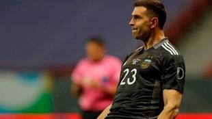Dibu Martínez fue clave para la Selección Argentina en Copa América
