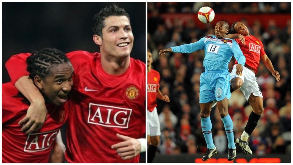 Anderson Luiz ganador de la Champions League con el Manchester United