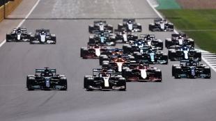 Lewis Hamilton se impuso en el Gran Premio de Gran Bretaña F1 2021
