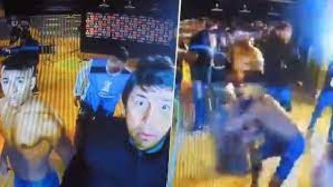 Escandalosa pelea en la Copa Libertadores