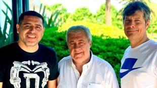 Riquelme, Ameal y Pergolini, cuando la situación entre ellos era...