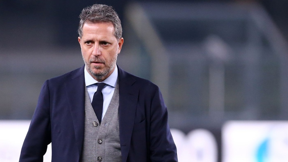 Fabio Paratici, director de fútbol del Tottenham.