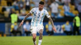 Rodrigo de Paul campeón de la Copa América, nuevo jugador del...