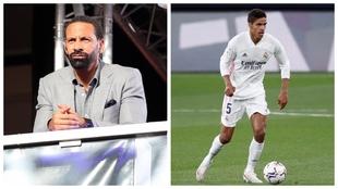 Rio Ferdinand (42) y Raphaël Varane (28)