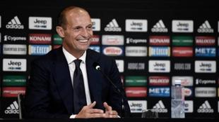 Massimiliano Allegri el nuevo entrenador de la Juventus de Turín