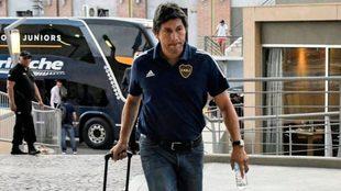 Jorge Bermúdez, molesto por lo sucedido con Boca durante la última...