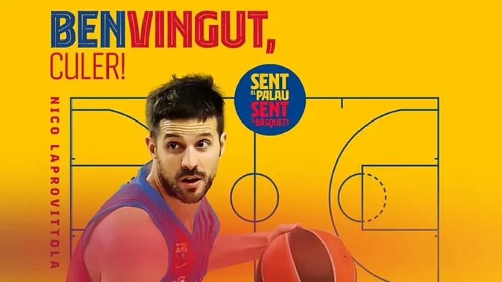 Nicolás Laprovittola es el nuevo fichaje del Barcelona hasta 2023